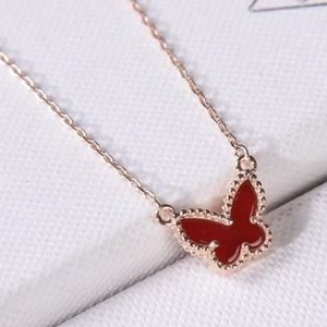 Van Cleef & Arpels Butterfly necklaces